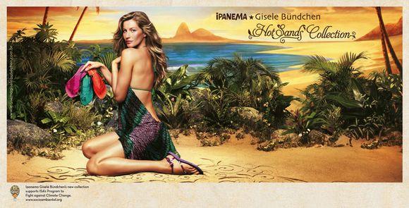 Ipanema Gisele Bündchen Hot Sands